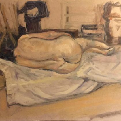 Griselda Mussett - Nude, study -