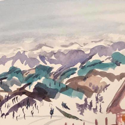 Griselda Mussett - Austrian Alps -
