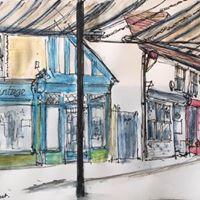 Griselda Mussett - Whitstable, Harbour Street -