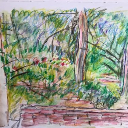 Griselda Mussett - Garden, Pula -