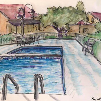 Griselda Mussett - Pool at Tortoli -