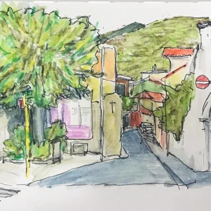 Griselda Mussett - Crossroads, Muravera -