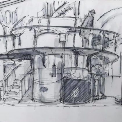 Griselda Mussett - Crossness Sewage Pumping Station -