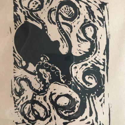 Griselda Mussett - Small octopus -