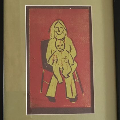 Griselda Mussett - Mother and Child -