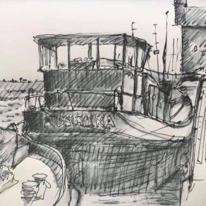 Griselda Mussett - Rusalka at Standard Quay -