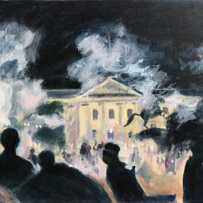 Griselda Mussett - White House Riots -