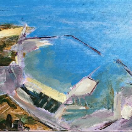 Griselda Mussett - Dover Harbour  -