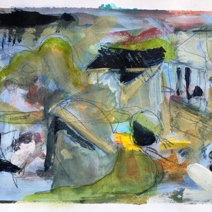 Griselda Mussett - Derek's garden -
