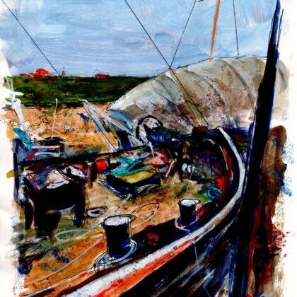 Griselda Mussett - Boatyard -