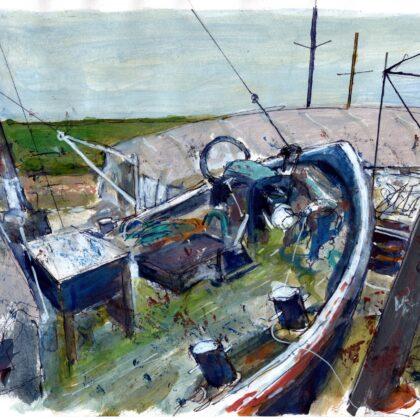 Griselda Mussett - Marjan at Iron Wharf £75 -