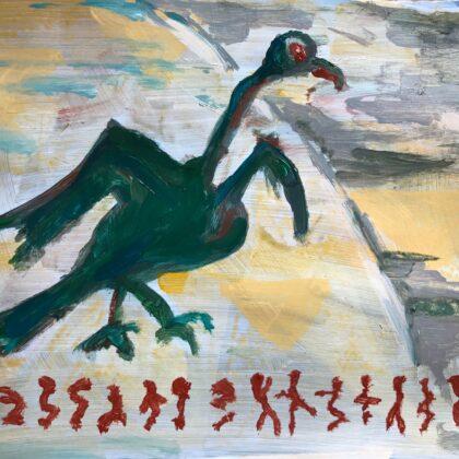 Griselda Mussett - Ugly bird  -